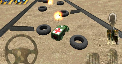 Army Parking 3D - 3