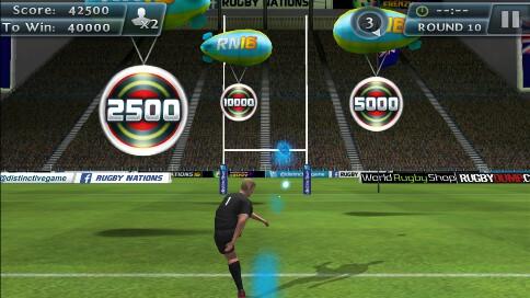 Rugby Kicks 2 - 1