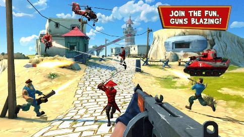 Blitz Brigade FPS online - 1