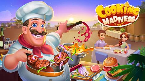 Cooking Madness - A Chef's Restaurant Games - 1