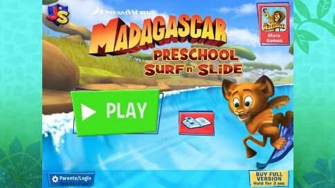 Madagascar Surf and Slides Free - 1