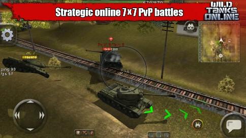 Wild Tanks Online - 2