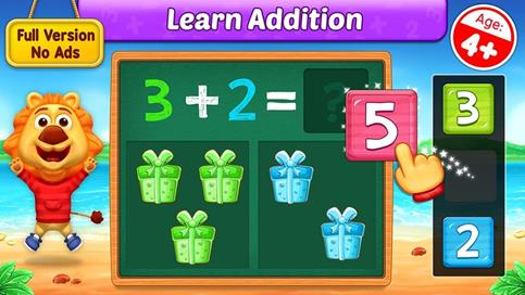 Math Kids - Add, Subtract, Count, and Learn - 1