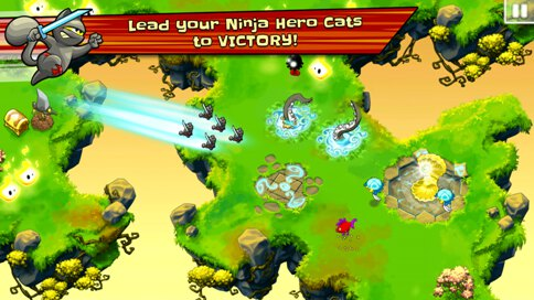 Ninja Hero Cats - 1