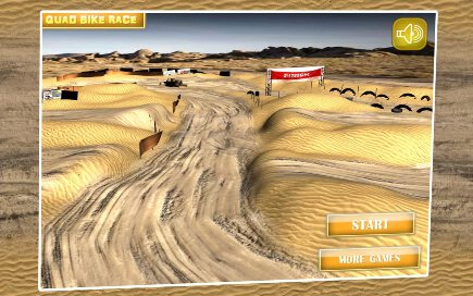 Quad Bike Race Desert Offroad - 2