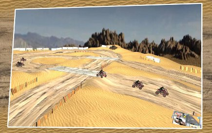 Quad Bike Race Desert Offroad - 3