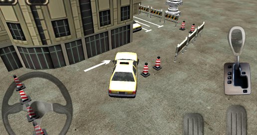 Taxi Driver 3D Cab Parking - 2