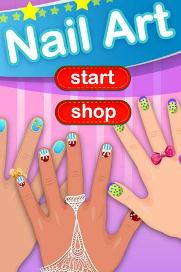 Dress up - Art nail girls - 2