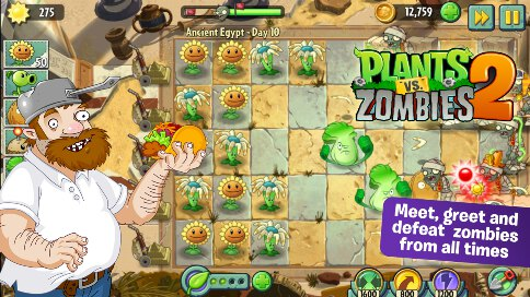 Plants vs Zombies 2 - 3