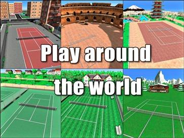 Hit Tennis 3 - 4