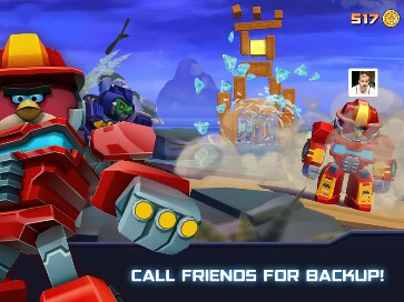 Angry Birds Transformers - 3