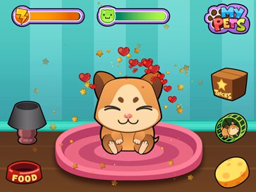 My Virtual Hamster Cute Pet - 1