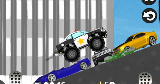 Mad Smash Cop Hill Racer - 1
