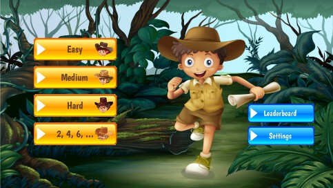 Counting Scout Math Game - 1