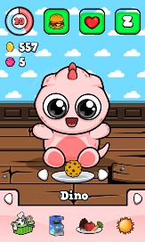 Baby Dino - Virtual Pet Game - 2