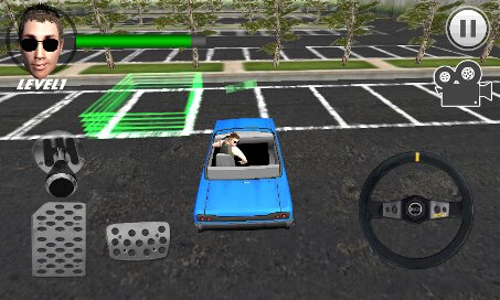 Crazy Parking Car King 3D - 3