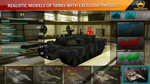 3D Tanks Online: Tanktastic - 2