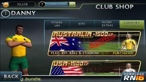Rugby Kicks 2 - 4