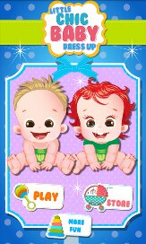 Little Chic Baby Dress Up Salon - 1