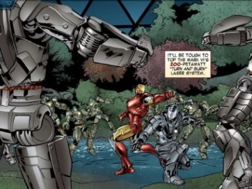 The Avengers-Iron Man Mark VII - 1