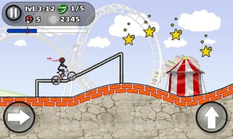StickMan BMX Stunts - 3