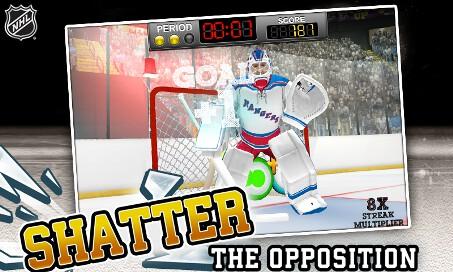 NHL Hockey Target Smash - 3