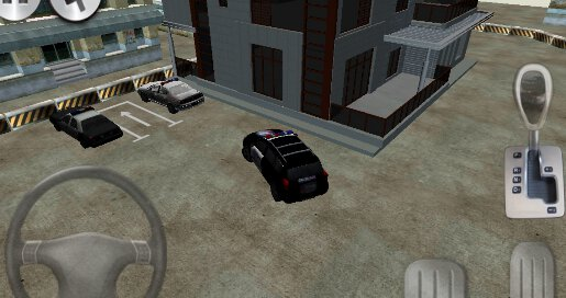 3D Police Car Parking - 2