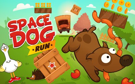 Space Dog Run - 1