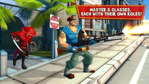Blitz Brigade FPS online - 3