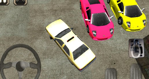 Taxi Driver 3D Cab Parking - 3