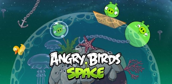 Angry Birds Space - 1