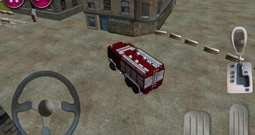 Fire Truck Parking 3D - 2