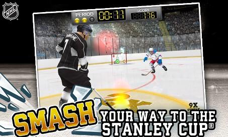 NHL Hockey Target Smash - 2