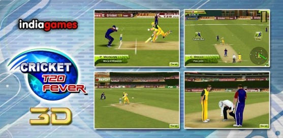 Cricket T20 Fever 3D - 1