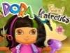 Dora real hair cutting