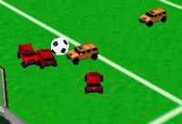 Futebol num Hummer 2