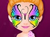 Baby Barbie Hobbies Face Painting