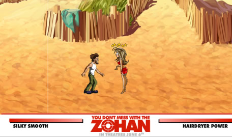 You Dont Mess with the Zohan Game