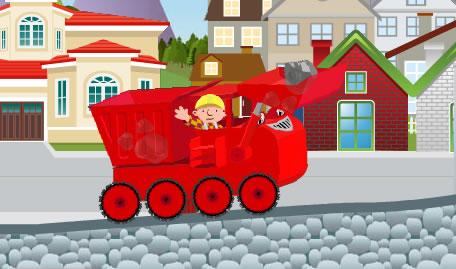 Bob o Construtor Transportar Pedras