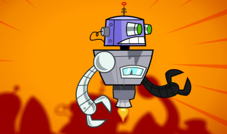 The Fairly OddParents Robots Fight