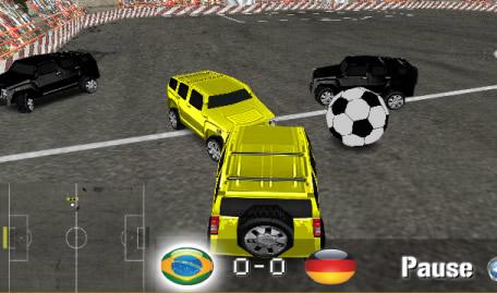Futebol de Carros 4x4