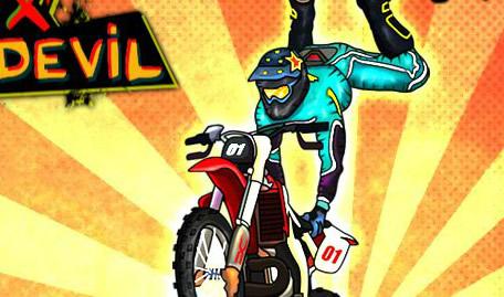 Saltos de Motocross Radicais