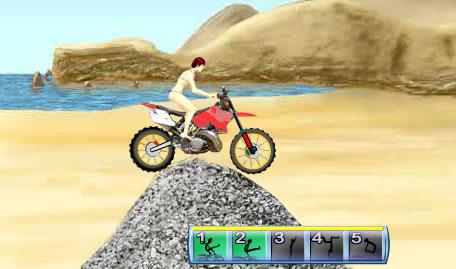 Motocross em Biquini