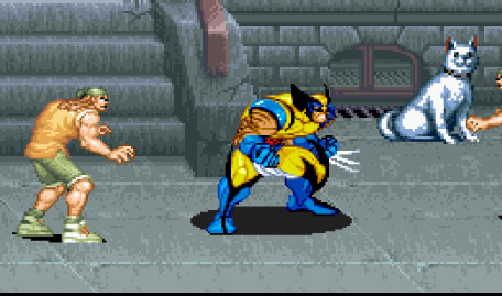 Wolverine X Men Sega Mega Drive