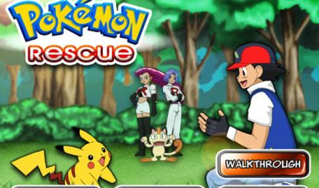 Resgate dos Pokémon