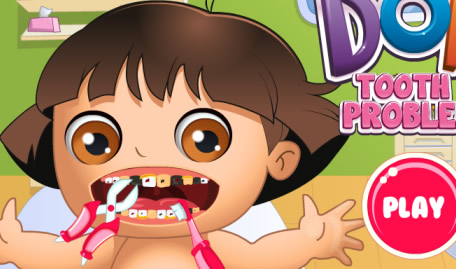 Dora Girl in the Dentist