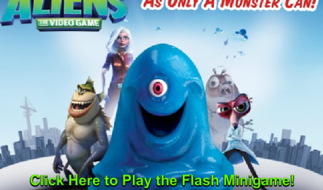 Mini Game Monsters vs Aliens