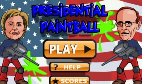 USA Presidential Paintball