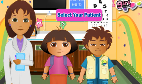 Dora and Diego - The Vision Test for Children