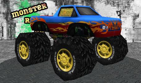 Corrida 3D de Monster Trucks